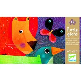Djeco giant puzzle Animal parade