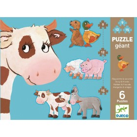 Djeco Giant Puzzle: Daisy and Friends