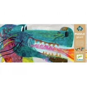 Djeco giant puzzle Leon the dragon