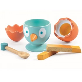 Djeco Play Kitchen Egg Cup COCO EGG