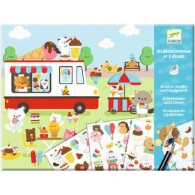 Djeco Decal Sticker Set SUGARLAND
