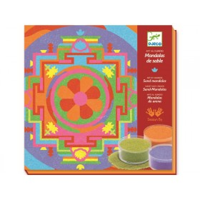Djeco Coloured Sand Tibetan Mandalas