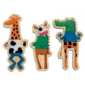 "Magnetics ""Crazy animals"" by Djeco"
