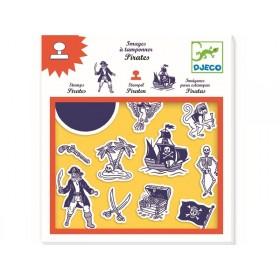Djeco Stamp Set Pirates