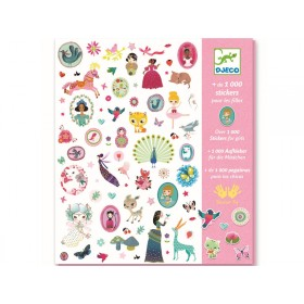 Djeco 1000 Stickers For Girls