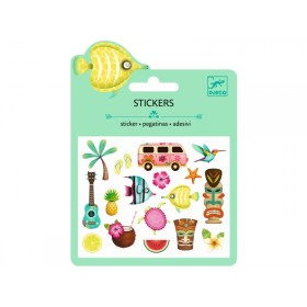 Djeco Mini stickers HAWAIIAN DESIGNS