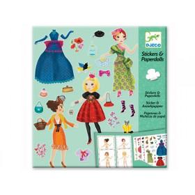 Djeco Stickers & Paperdolls Fashion