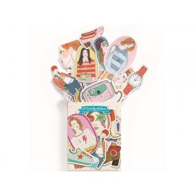 Djeco Fashion Stickers NATHALIE
