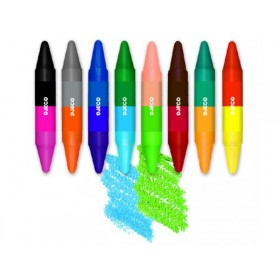 Djeco 8 crayons 16 colours