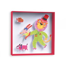 Djeco wall picture Lion Large