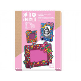 Djeco DIY Mosaic Picture Frames FAIRIES