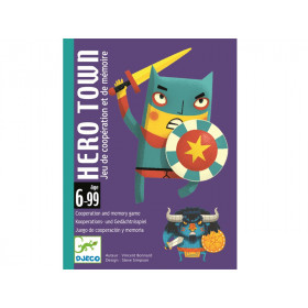 Djeco Card Game HERO TOWN