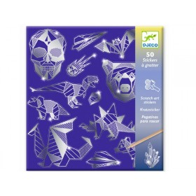 Djeco Scratch Boards IRON