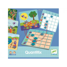 Djeco Learning Game QUANTITIX
