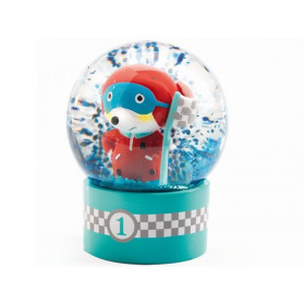 Djeco Mini Snow Globe RACE DRIVER