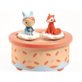 Djeco Magnet Musical Box FOX MELODY