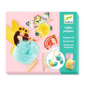 Djeco DIY Pompom Kit FAIRIES