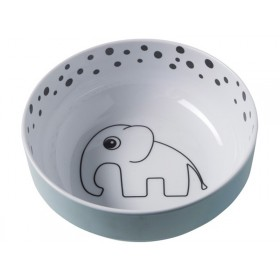 Done by Deer dots yummy bowl blue