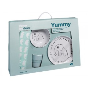Done by Deer yummy dinner set blue