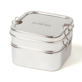 ECO Brotbox stainless steel CUBE BOX