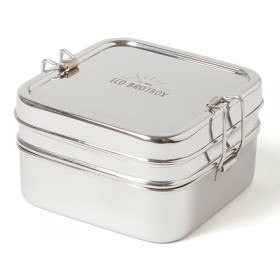 ECO Brotbox stainless steel CUBE BOX XL