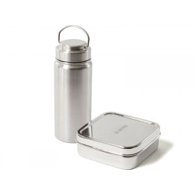 ECO Brotbox stainless steel STARTER SET