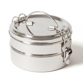 ECO Brotbox stainless steel TIFFIN DOUBLE XL