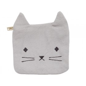 Fabelab Coin Pouch CAT grey