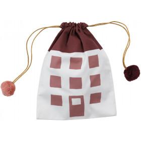 Fabelab Gift bag HOUSE bordeaux