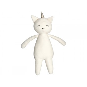 Fabelab Cuddly Buddy UNICORN natural