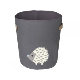 FRANCK & FISCHER storage bin HEDGEHOG dark grey large