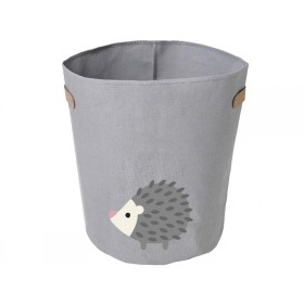 FRANCK & FISCHER storage bin HEDGEHOG light grey large