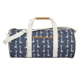 Fresk Weekender Bag Large GIRAFFE navy