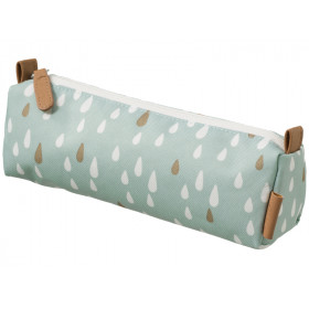 Fresk Pencil Case DROPS blue