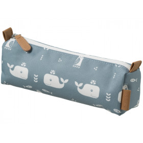 Fresk Pencil Case WHALE blue