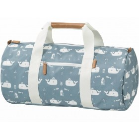 Fresk Gym Bag WHALES blue