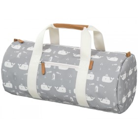 Fresk Gym Bag WHALES grey