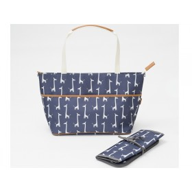 Fresk Nursing Bag GIRAFFE navy