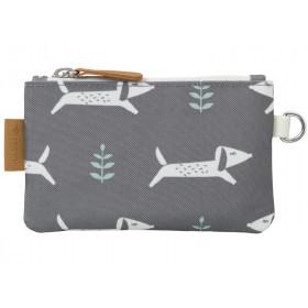 Fresk wallet DOGS grey