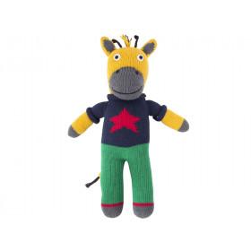 Global Affairs Knitted Toy GIRAFFE