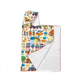 Farmyard hooded towel from byGraziela