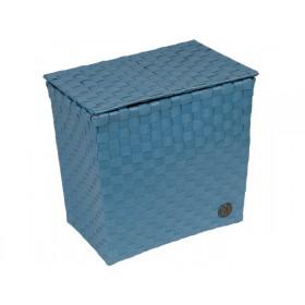 Handed By box Bologna stone blue