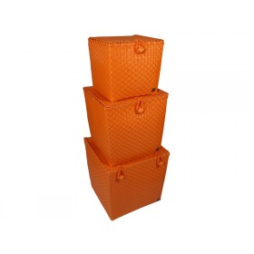Handed By basket Florence orange