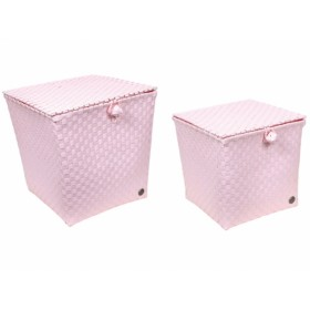 Handed By basket Florence powder pink