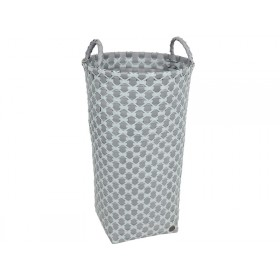 Handed By laundry basket Dijon greyish green pattern