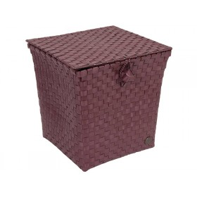 Handed By basket Florence marsala red