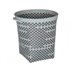 Handed By round basket Imperfection greyish green dark grey