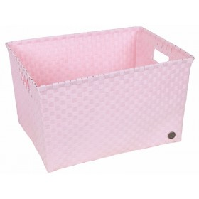 Handed By basket Siena powder pink