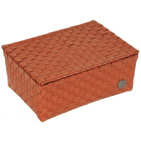 Small basket Udine in terracotta by Handed By