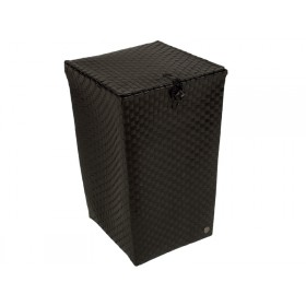 """Laundry basket """"Venice"""" in black by Handed By"""